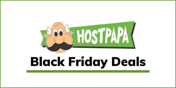 HostPapa Black Friday Deal