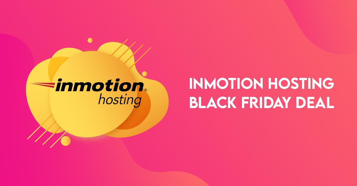 InMotion Hosting Black Friday Deal