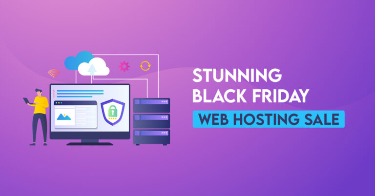 Stunning Black Friday Web Hosting Sale