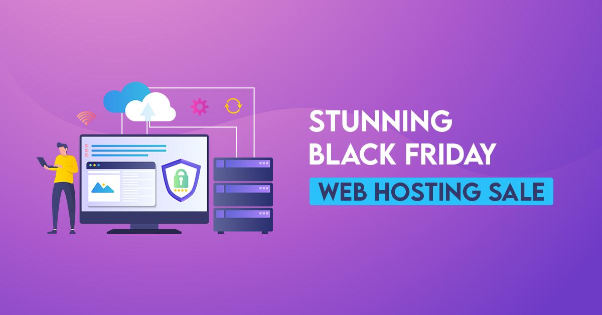 Stunning Black Friday Web Hosting Sale