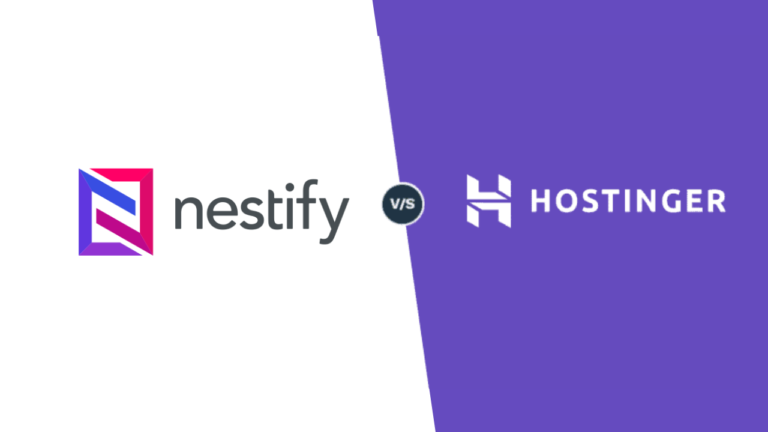 Hostinger vs. Nestify: Which one is better? [2021]